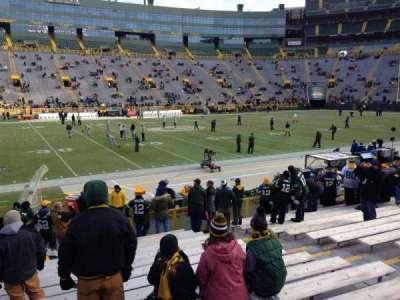 Lambeau Field, section: 116, row: 16, seat: 9