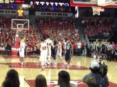 Kohl Center, section: 101, row: EE, seat: 15-16