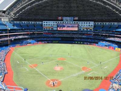 Rogers Centre, section: 524AR, row: 7, seat: 3