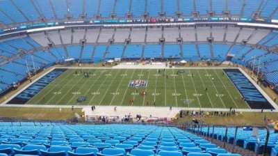 Bank of America Stadium section 514