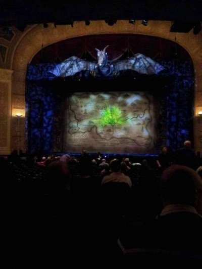 Detroit Opera House, section: Main Floor, row: V, seat: 213
