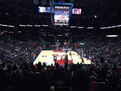 Philips Arena, section: 120, row: M, seat: 6