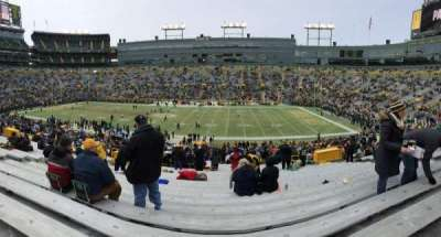Lambeau Field, section: 115, row: 47, seat: 13