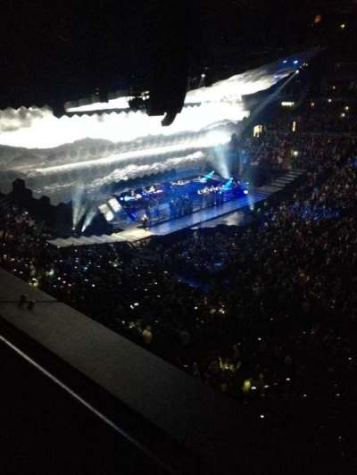 Air Canada Centre, section: 309, row: 1, seat: 6