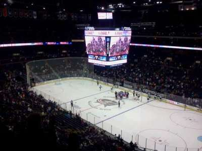 Nationwide Arena, section: 214, row: D, seat: 3