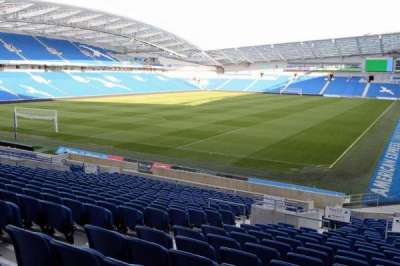 American Express Community Stadium, section: N1C, row: L