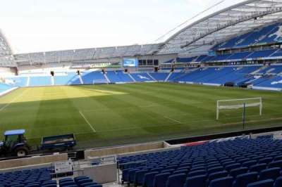 American Express Community Stadium, section: N1G, row: V