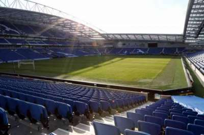 American Express Community Stadium, section: S1B, row: P
