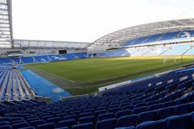 American Express Community Stadium, section: S1H, row: P