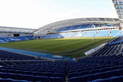 American Express Community Stadium, section: S1I, row: P