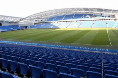 American Express Community Stadium, section: W1A, row: W