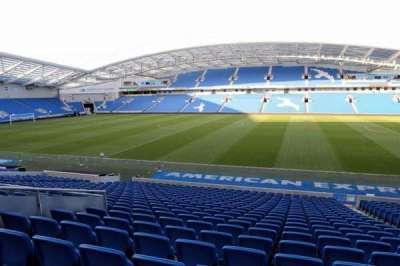 American Express Community Stadium, section: W1D, row: V