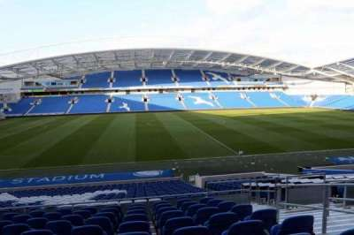 American Express Community Stadium, section: W1F, row: X