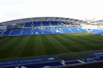 American Express Community Stadium, section: W2F, row: C