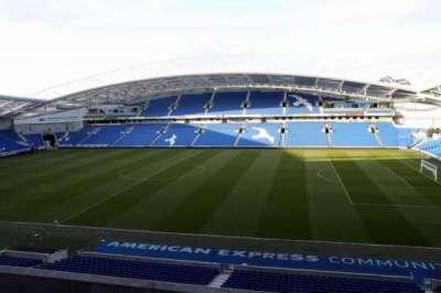 American Express Community Stadium, section: W2C, row: A