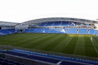 American Express Community Stadium, section: W2B, row: C
