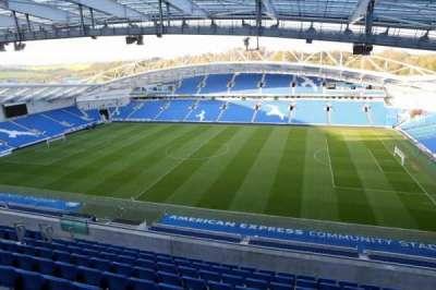 American Express Community Stadium, section: W3C, row: G