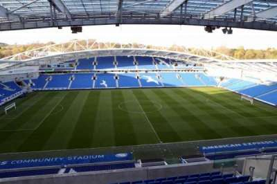 American Express Community Stadium, section: W3F, row: E