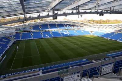 American Express Community Stadium, section: W3H, row: I