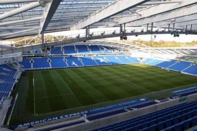 American Express Community Stadium, section: W3I, row: H