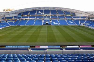 American Express Community Stadium, section: E3D, row: G