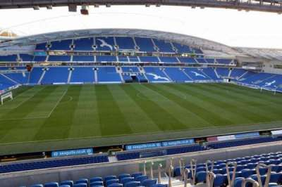 American Express Community Stadium, section: E3F, row: H
