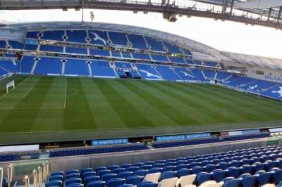 American Express Community Stadium, section: E3G, row: H