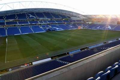 American Express Community Stadium, section: E3H, row: B