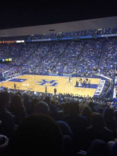 Rupp Arena, section: 29, row: Y, seat: 4
