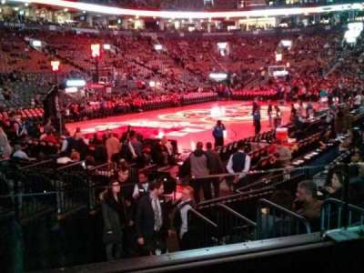Air Canada Centre, section: 122, row: 9, seat: 7