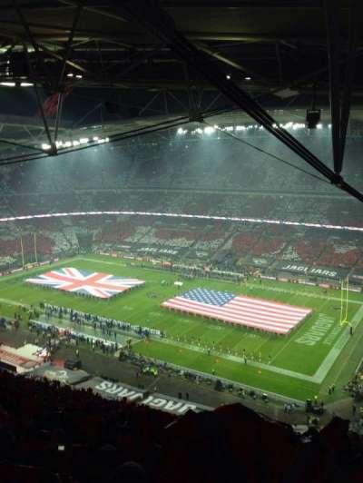 Wembley Stadium section 522