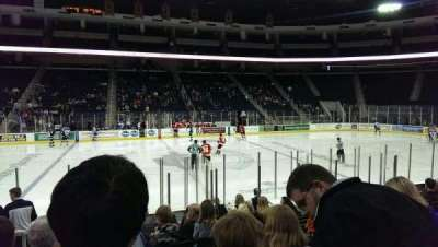 Infinite Energy Arena, section: 118, row: L, seat: 17