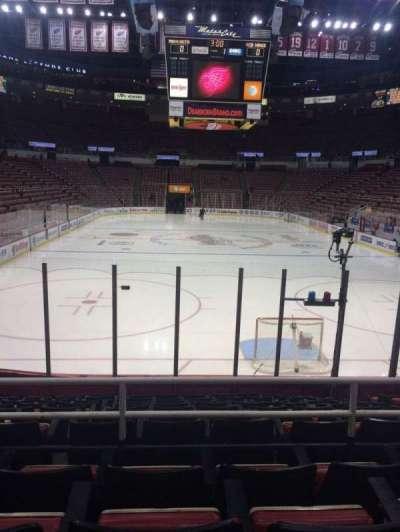 Joe Louis Arena, section: 101, row: 11, seat: 5