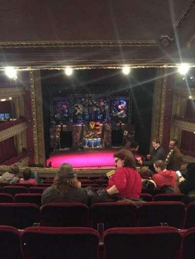 CIBC Theatre, section: Mezzanine LC, row: K, seat: 305