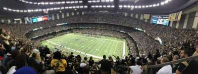 Mercedes-Benz Superdome, section: 610, row: 19, seat: 1
