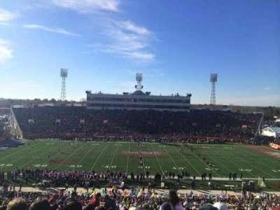 Ladd Peebles Stadium, section: Q, row: 61, seat: 26