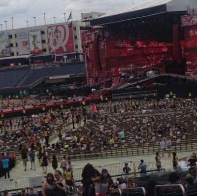 Nationals Park, section: 133, row: SS, seat: 3,4,5