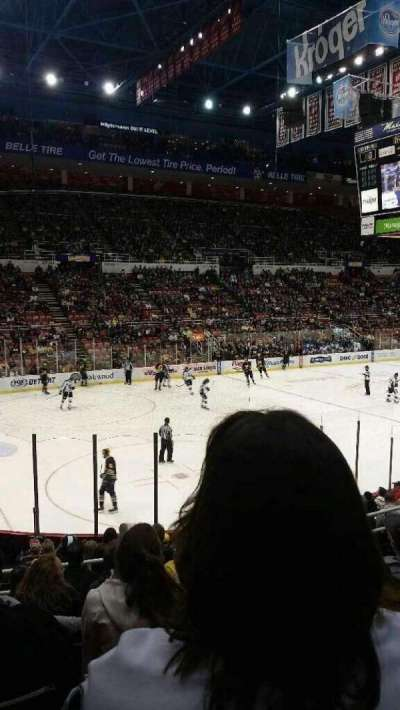 Joe Louis Arena, section: 111, row: 15, seat: 7