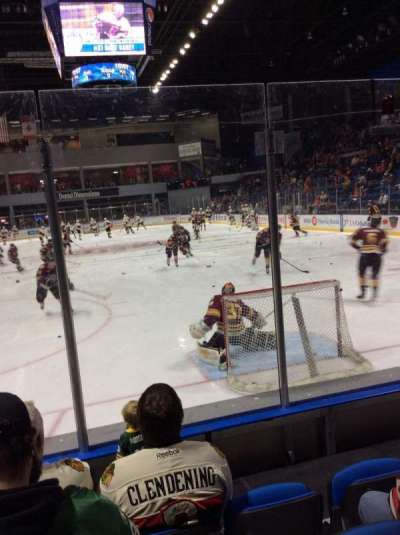 BMO Harris Bank Center, section: 112, row: E, seat: 13
