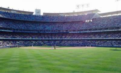 Dodger Stadium, section: Right Field Pavillion