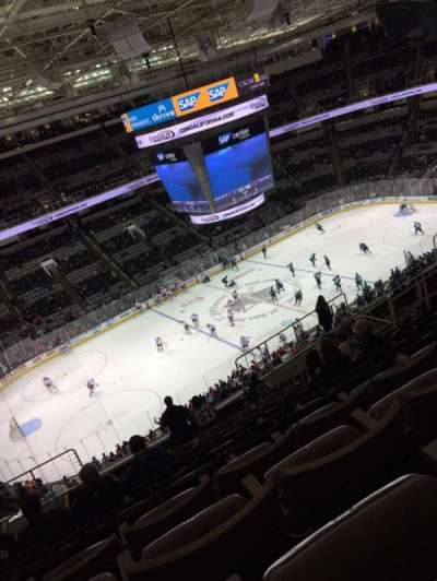 SAP Center at San Jose, section: 203, row: 15, seat: 13
