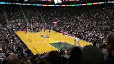 Vivint Smart Home Arena, section: 14, row: 18, seat: 5