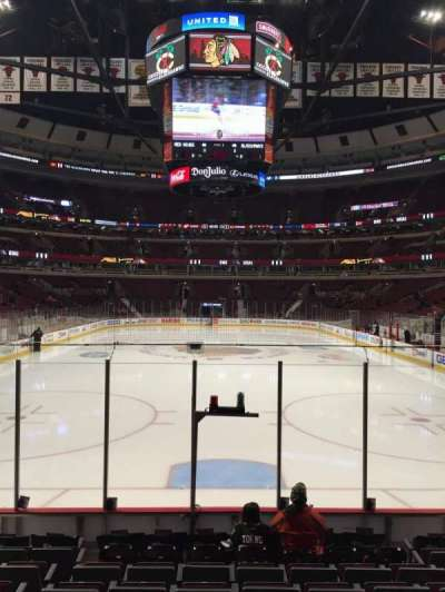 United Center, section: 106, row: 9, seat: 9