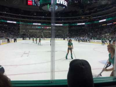 American Airlines Center, section: 101, row: B, seat: 11
