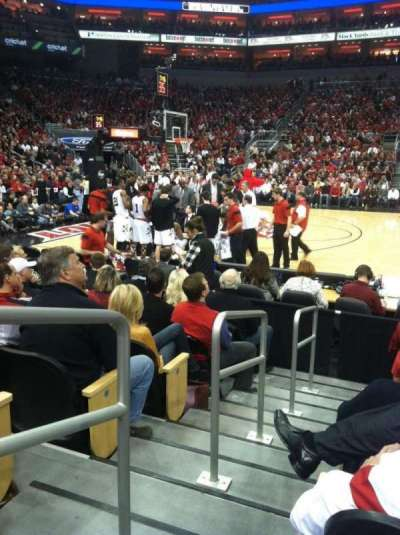 KFC Yum! Center, section: 116, row: E