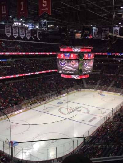 Verizon Center, section: 412, row: B, seat: 2