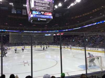 Nationwide Arena, section: 121, row: F, seat: 8