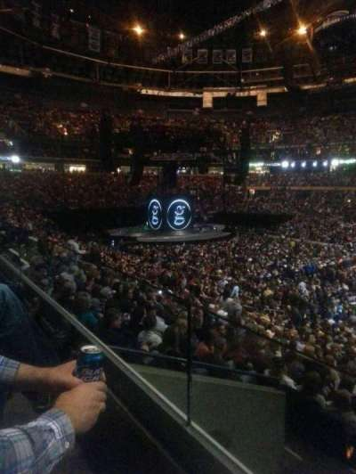 KeyBank Center, section: 205, row: 1, seat: 6