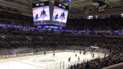 SAP Center at San Jose, section: 104, row: 21, seat: 1