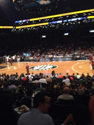 Barclays Center section 23